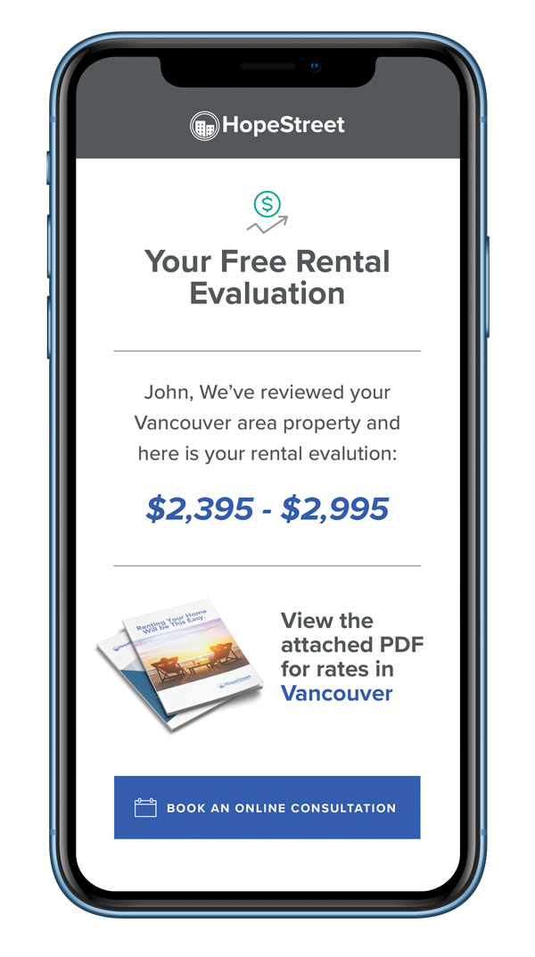 Rental evaluation iphone